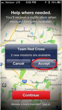 accept mission